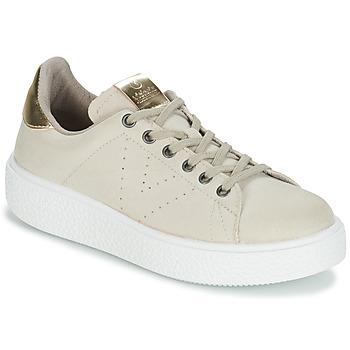 Schoenen Dames Lage sneakers Victoria UTOPIA RELIEVE ANTELINA Beige