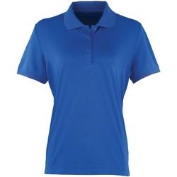 Textiel Dames Polo's korte mouwen Premier PR616 Koninklijk