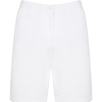 Textiel Heren Korte broeken / Bermuda's Front Row FR605 Wit