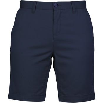 Textiel Dames Korte broeken / Bermuda's Front Row FR606 Marine