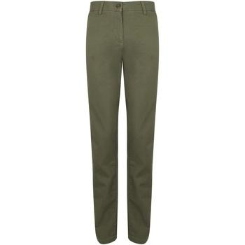 Textiel Dames Chino's Front Row FR622 Khaki