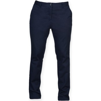 Textiel Dames Chino's Front Row FR622 Marine