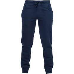 Textiel Kinderen Trainingsbroeken Skinni Fit SM425 Marine