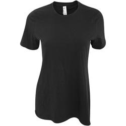 Textiel Dames T-shirts korte mouwen American Apparel AA071 Zwart