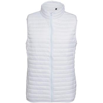 Textiel Heren Dons gevoerde jassen 2786 Fineline Wit