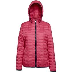 Textiel Dames Dons gevoerde jassen 2786 TS23F Rood