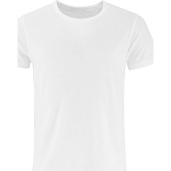 Textiel Heren T-shirts korte mouwen Comfy Co CC040 Wit