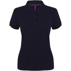 Textiel Dames Polo's korte mouwen Henbury HB102 Marine