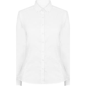 Textiel Dames Overhemden Henbury HB513 Wit