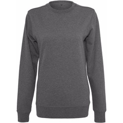 Textiel Dames Sweaters / Sweatshirts Build Your Brand BY025 Houtskool