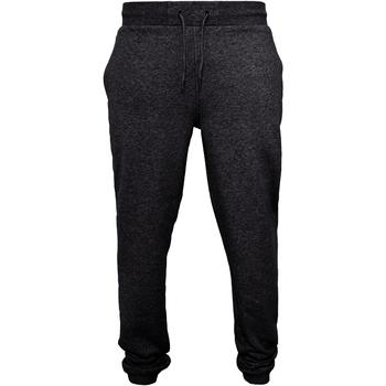 Textiel Heren Trainingsbroeken Build Your Brand BY014 Zwart