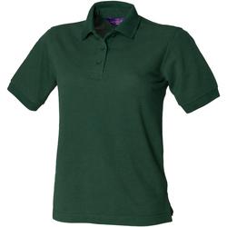 Textiel Dames Polo's korte mouwen Henbury HB401 Fles