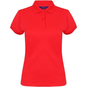 Textiel Dames Polo's korte mouwen Henbury Coolplus Rood
