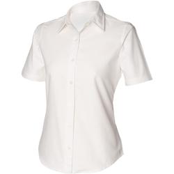 Textiel Dames Overhemden Henbury HB516 Wit
