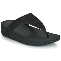 Schoenen Dames Teenslippers FitFlop LOTTIE GLITZY Zwart