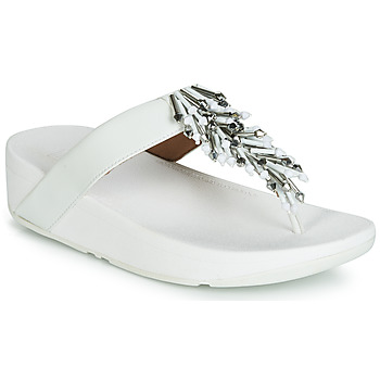 Schoenen Dames Teenslippers FitFlop JIVE TREASURE Wit