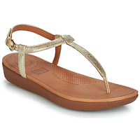 Schoenen Dames Sandalen / Open schoenen FitFlop TIA Goud