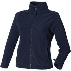 Textiel Dames Fleece Henbury HB851 Marine