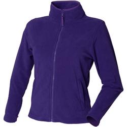 Textiel Dames Fleece Henbury HB851 Paars