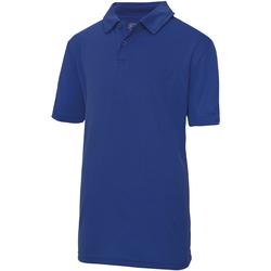 Textiel Kinderen Polo's korte mouwen Awdis JC40J Koninklijk