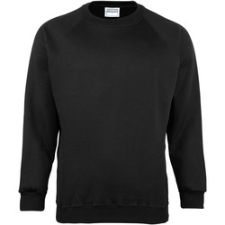 Textiel Kinderen Sweaters / Sweatshirts Maddins MD01B Zwart