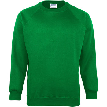 Textiel Kinderen Sweaters / Sweatshirts Maddins MD01B Smaragd