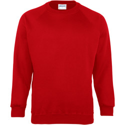 Textiel Kinderen Sweaters / Sweatshirts Maddins MD01B Rood