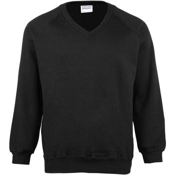 Textiel Kinderen Sweaters / Sweatshirts Maddins MD02B Zwart