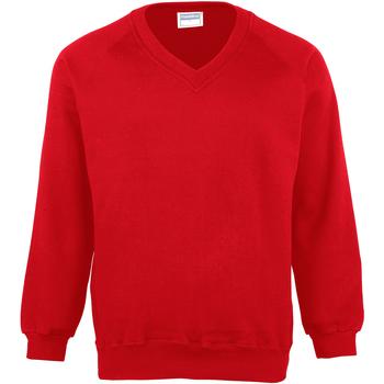 Textiel Kinderen Sweaters / Sweatshirts Maddins MD02B Rood
