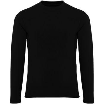 Textiel Jongens T-shirts met lange mouwen Tridri TR16B Zwart
