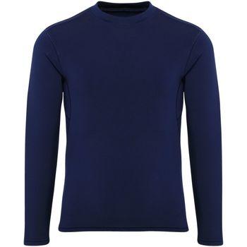 Textiel Jongens T-shirts met lange mouwen Tridri TR16B Marine