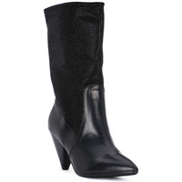 Schoenen Dames Low boots Juice Shoes TEVERE NERO STRASS NERI Nero