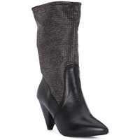 Schoenen Dames Low boots Juice Shoes TEVERE NERO STRASS CANNA DI FUCILE Grigio