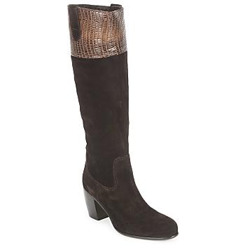 Schoenen Dames Hoge laarzen C.Doux ENZO BOT Bruin