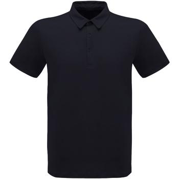 Textiel Heren Polo's korte mouwen Regatta  Marine