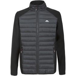 Textiel Heren Fleece Trespass Saunter Zwart