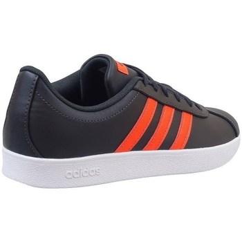 Schoenen Kinderen Lage sneakers adidas Originals VL Court 20 K Zwart