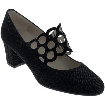 Schoenen Dames pumps Brenda Zaro F2962 Zwart leer