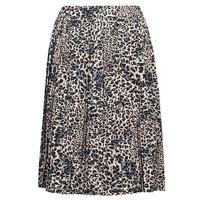 Textiel Dames Rokken Betty London J.WILD TIME Beige / Zwart