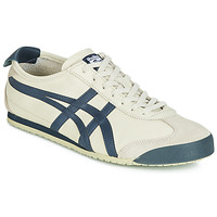 Schoenen Heren Lage sneakers Onitsuka Tiger MEXICO 66 LEATHER Beige / Blauw