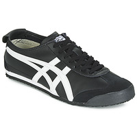 Schoenen Lage sneakers Onitsuka Tiger MEXICO 66 LEATHER Zwart / Wit