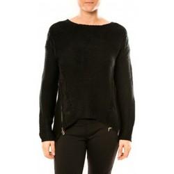 Textiel Dames Truien By La Vitrine Pull Laetitia MEM K078 Noir Zwart