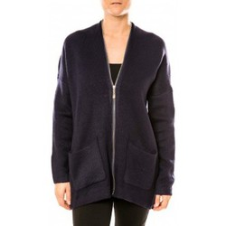 Textiel Dames Tunieken Tcqb Gilet Lely Wood L586 Bleu Blauw