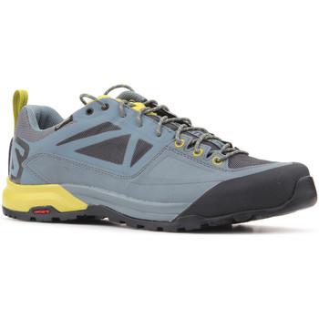 Schoenen Heren Lage sneakers Salomon Trekking shoes  X Alp SPRY GTX 401621 grey, yellow