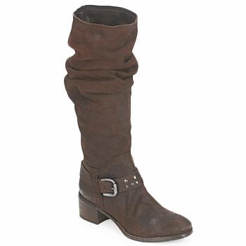 Schoenen Dames Hoge laarzen Rew Dream HYGIE Bruin