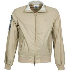 Textiel Heren Wind jackets U.S Polo Assn. PLAYER Beige