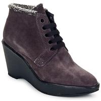 Schoenen Dames Low boots Parallèle LAHO Pruim