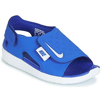 Schoenen Jongens Sandalen / Open schoenen Nike SUNRAY ADJUST 5 Blauw