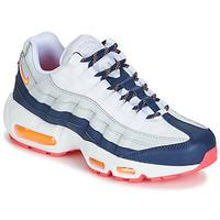 Schoenen Dames Lage sneakers Nike AIR MAX 95 W Wit / Blauw / Oranje